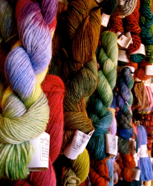 Alpaca, Llama, and other Yarns